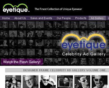 eyetique web design