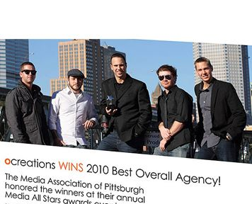 Ocreations wins best overall agency