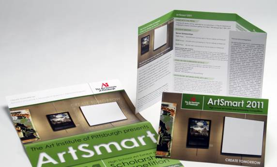 Art Institute of Pittsburgh Brochure Design