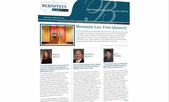 Bernstein Law Firm Web Mail Template