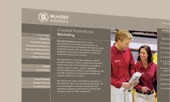 Branded Solutions Web Design