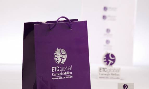 Carnegie Mellon ETC Global Gift Bag Packaging