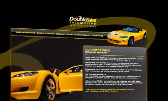 Double Take Automotive Web Design