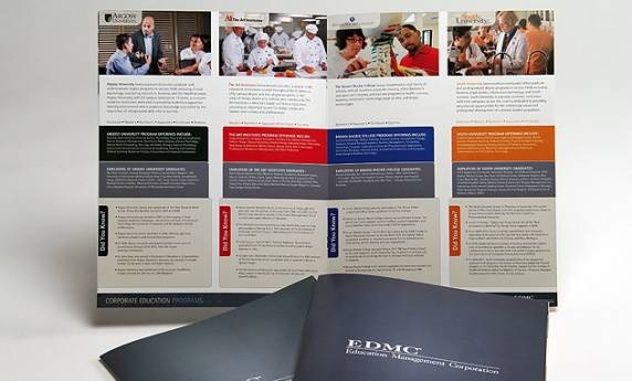 EDMC Pittsburgh Catalog Design