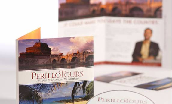 Perillo Tours Direct Mail Brochure