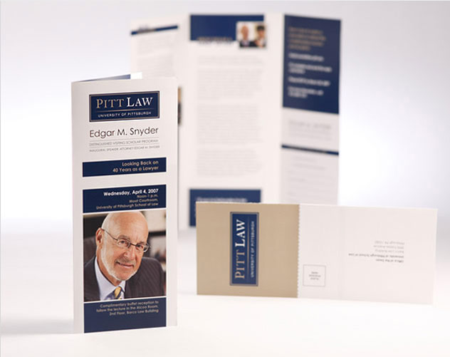 Pitt Law Brochure