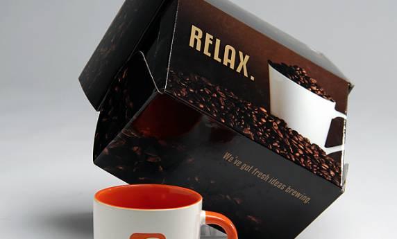 ocreations Coffee Mug and Package Design