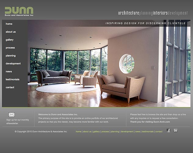 dunn architecture website ocreations a pittsburgh design
