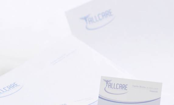 Allcare Business Card Letterhead