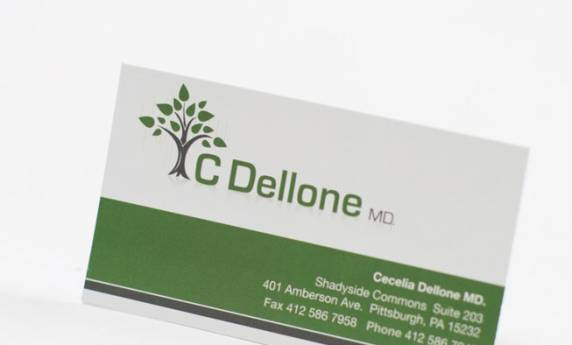 C Dellone Business Card