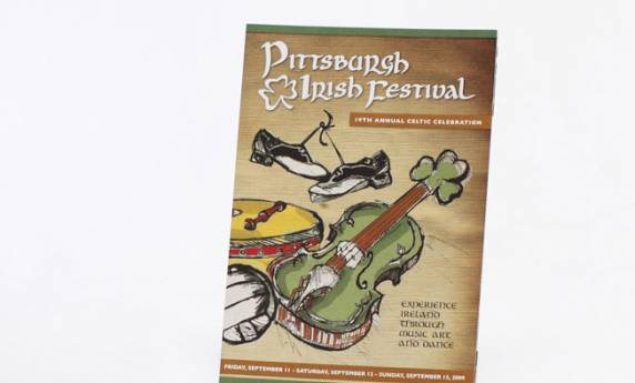 Irish Fest Promotional Mailer