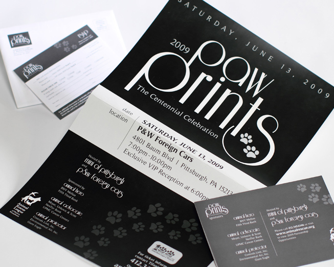 Paw prints business card ocreations a pittsburgh design paw prints business card colourmoves