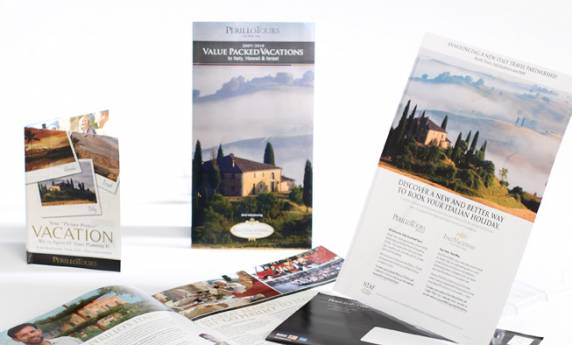Perillo Tours Promotional Mailer Travel Package