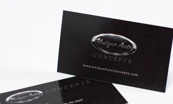 Unique Auto Business Card