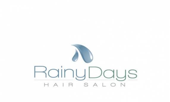 Rainy Days Hair Salon Logo