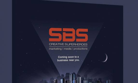 SBS Creative Superhero's Marketing Web Mail Design