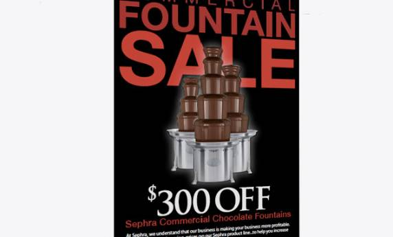 Sephra Commercial Chocolate Fountains Web Mail