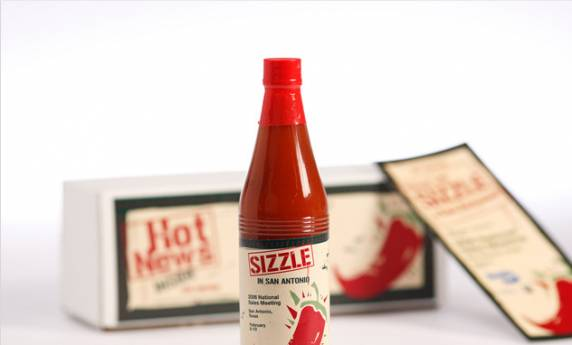 Sizzle Hot Sauce Promotional Package