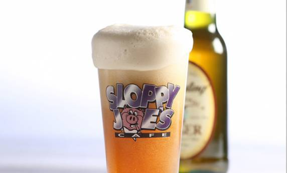 Sloppy Joes Cafe Cup Promotional Beer Mug