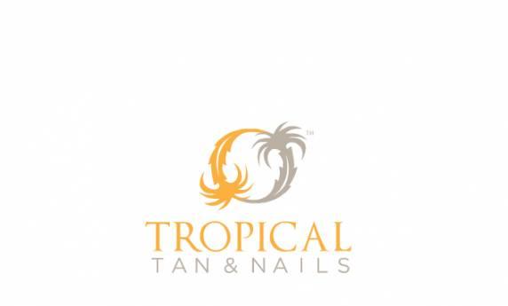Tropical Tan and Nails Logo