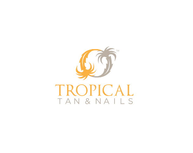 Tropical Tan And Nails Logo