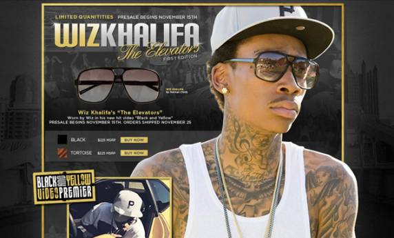 Wiz Khalifa by Norman Childs Website Design