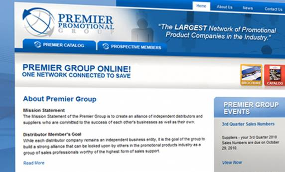 Premier Group Website