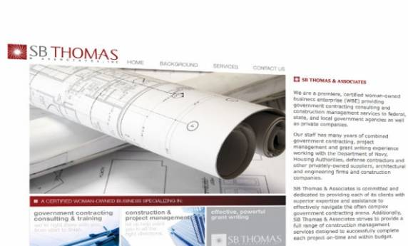 SB Thomas Website