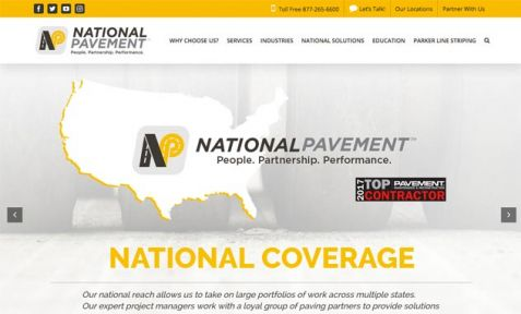 National Pavement Website