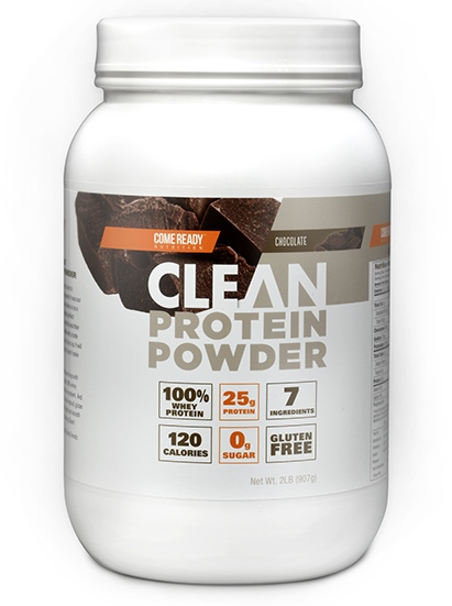 Come Ready Nutrition: Clean Protein Powder