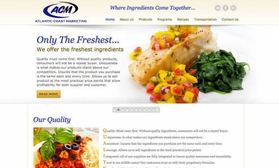 Atlantic Coast Marketing Web Design
