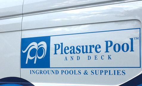 Pleasure Pool Van Graphic