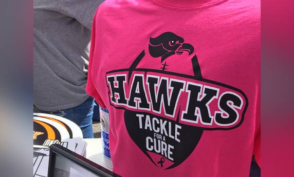 Bethel Park Hawks Tackle for a Cure