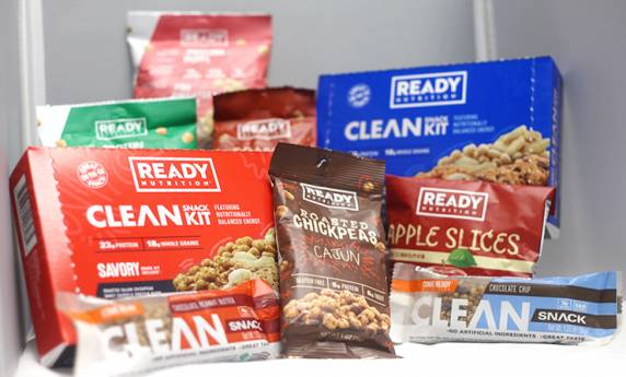READY Nutrition: Clean Snack Kit