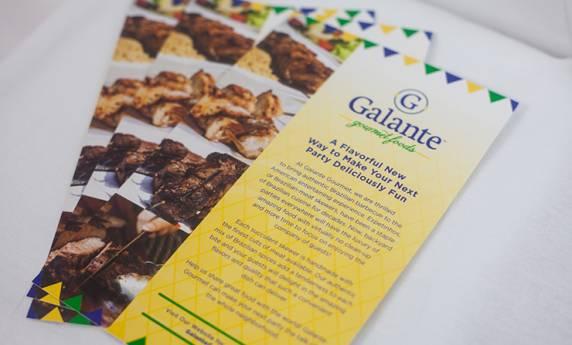 Galante Gourmet Foods Flyer