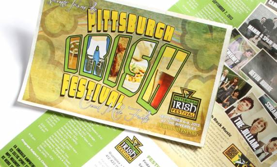 Print Design Pittsburgh Irish Festival