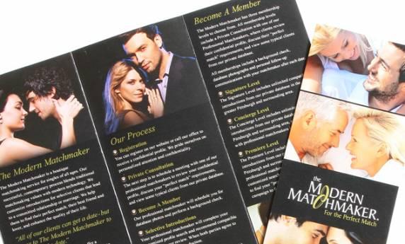 Print Design The Modern Matchmaker