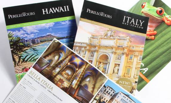 Publication Design Perillo Tours