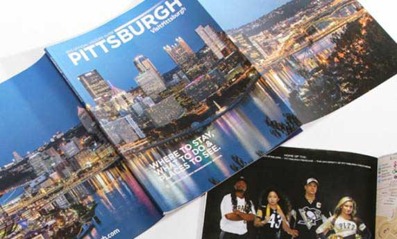 Visit Pittsburgh Publication Design