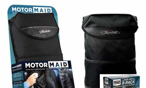 Motor Maid Janibell Package Design