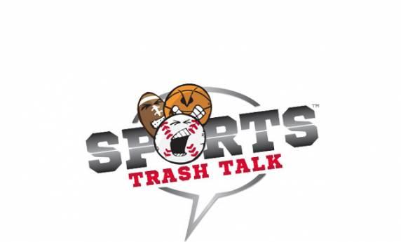 Sports Trash Talk Logo Design
