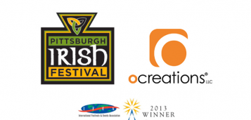 The Pittsburgh Irish Festival and Ocreations Win Three International Design Awards