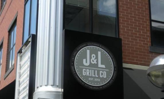 J & L Grill Exterior Sign – Southside Works