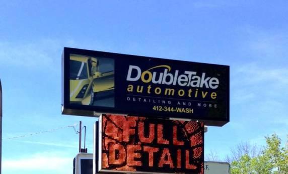 Double Take Automotive Exterior Sign