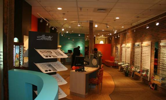 Eye Candy Optical Interior Consultation & Graphics