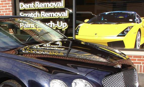 Double Take Auto Detailing Window Graphics