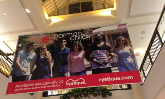 Eyetique Mall Interior Billboard