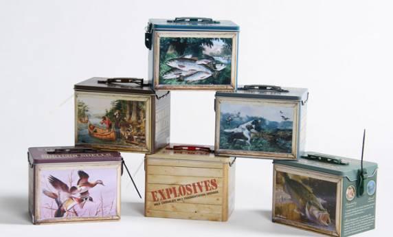 Custom Chocolate Tins Package Design