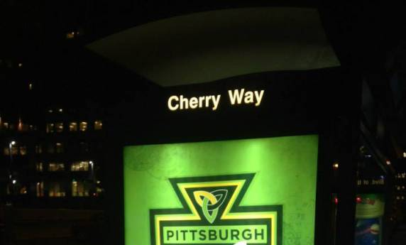 Pittsburgh Irish Festival Illuminated Transit Shelter Design