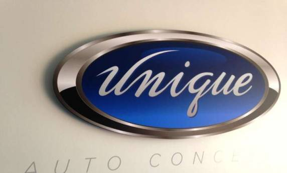 Unique Auto Concepts Interior Sign